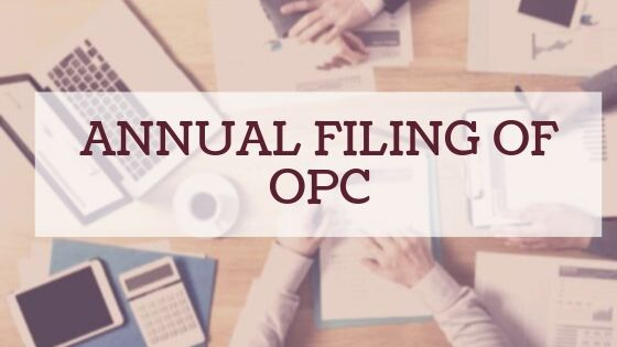 Annual Filing of OPC